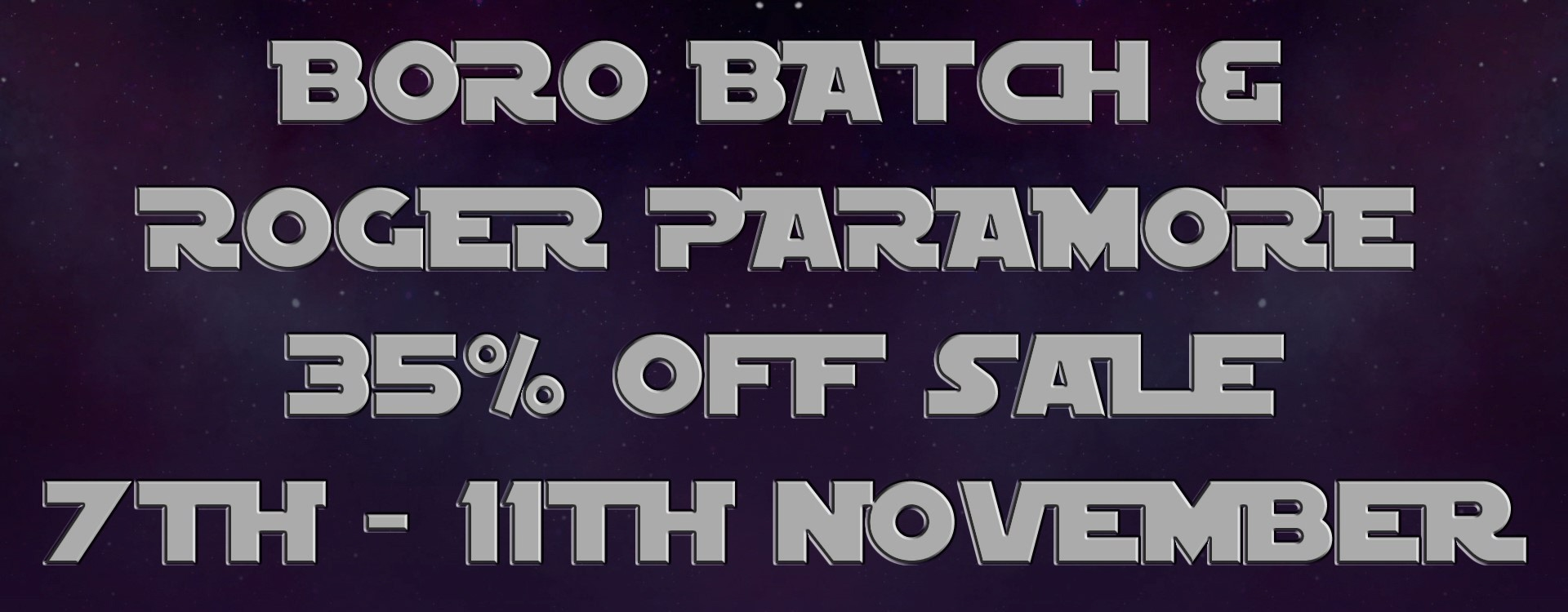 Boro Batch Sale